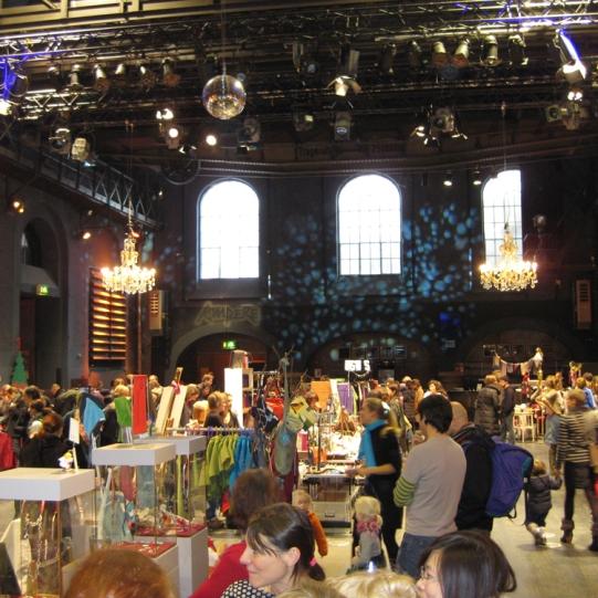 Glockenbachweihnachtsmarkt in der Muffathalle
